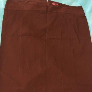Torrid Black Fitted Pencil Skirt